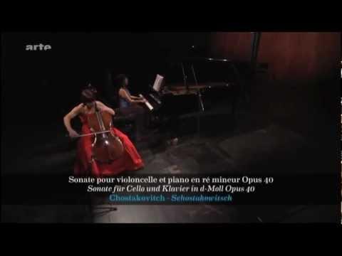 Sonate op 40 - Chostakovitch - Tatjana Vassiljeva (violoncelle) / Shani Diluka (piano)