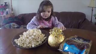 Шоколадный БУМ! Большое ферреро, шоколадные чипcы и попкорн!