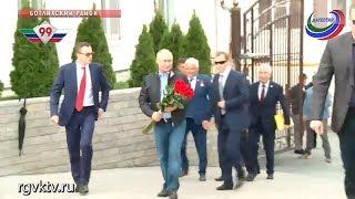 Визит Владимира Путина в Дагестан
