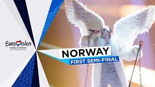TIX - Fallen Angel - LIVE - Norway 🇳🇴 - First Semi-Final - Eurovision 2021