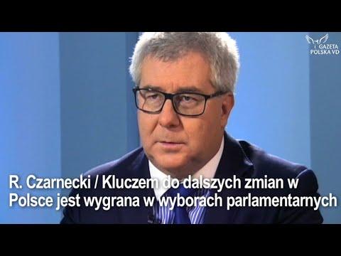 R. Czarnecki / Kluczem do dalszych zmian w Polsce jest wygrana w wyborach parlamentarnych