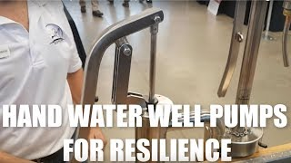 Resilience & Water Security with Hand Water Pumps by Bison