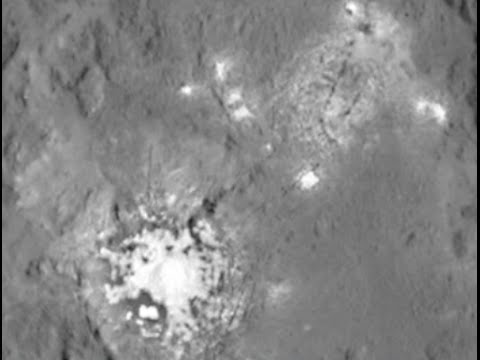 Ceres Lights Closest Images Ever