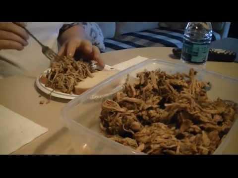 Slow Cooker Pulled Pork Shoulder Picnic Roast Crock Pot