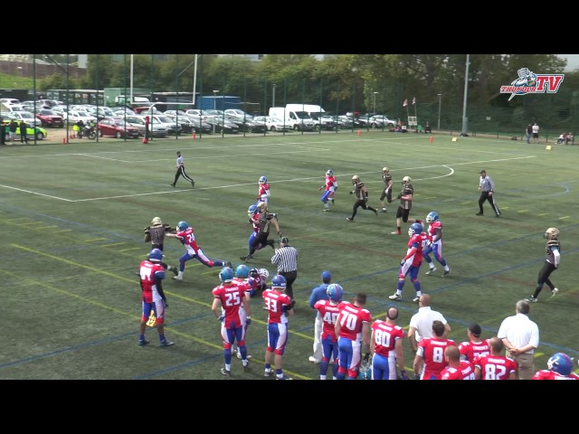 2017 - Sussex Thunder @ Solent Thrashers Highlights