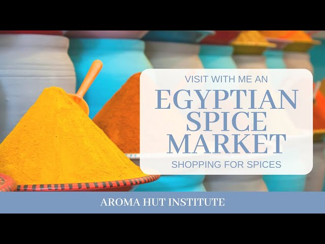 Egypt Spice Market | Shop With Me for Egyptian Spices | Cairo - Aswan