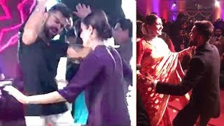 vuclip CUTE Video- Virat Kohli Anushka Sharma Dancing At Their WEDDING Reception In Mumbai On 26th Dec 2017