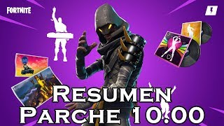 Patch Summary 10.00 In Fortnite Save The World