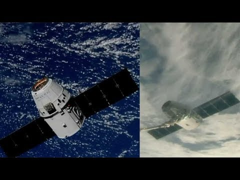SpaceX CRS-15: Dragon capture, 2 July 2018