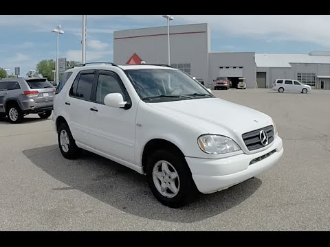2000 mercedes benz ml320 w136 4matic awd 18385a youtube