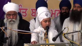 SANT BABA  PARAMPREET SINGH  JI SALANA SAMAGAM BARN PATIALA 28 02 2015 PART 2