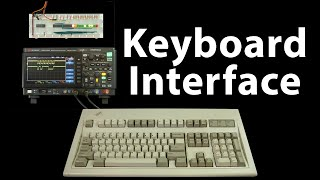 So how does a PS/2 keyboard interface work?