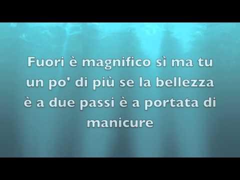 Fedez MAGNIFICO feat Francesca Michielin TESTO