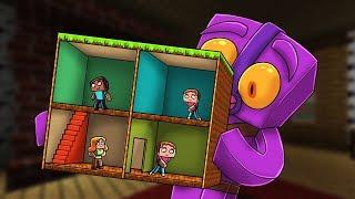 Minecraft -  1 Block Build Battle! (Worlds Smallest Build Challenge)