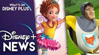 "Disney Developing A ""Knights"" Movie & Disney Orders Third Season Of 'Fancy Nancy' | Disney Plus News"