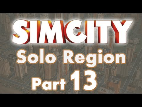 SimCity Solo Region Let's Play Part 13 - Education City Phas