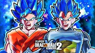 NEW ANIMATED EVOLUTION BLUE GOKU & VEGETA! Dragon Ball Xenoverse 2 Shinka Goku & Vegeta Gameplay