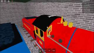 Playing Thomas & Friends: The Cool Beans Railway 2 On Roblox