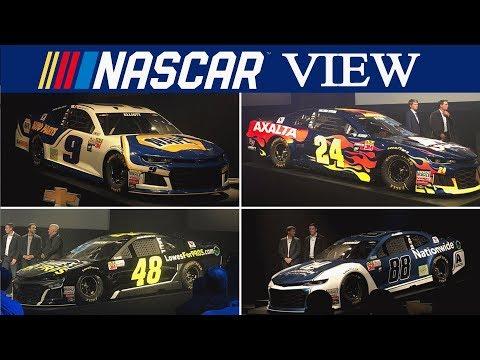 NASCAR View #98 Hendrick Motorsports 2018 Paint Schemes