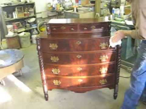 Restoring A Chest Of Drawers Thomas Johnson Antique