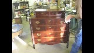 Restoring A Chest Of Drawers - Thomas Johnson Antique Furniture Restoration
