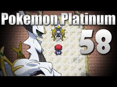Pokémon Platinum - Episode 58 [Arceus Event]