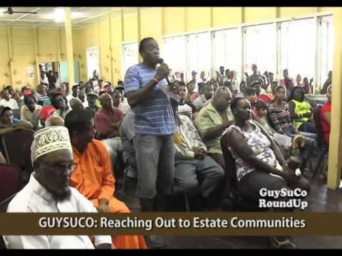Community Outreach - East Demerara Estates