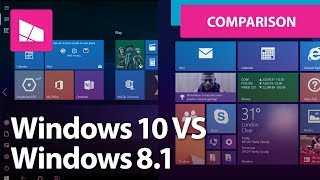 Tablet Mode: Windows 10 vs Windows 8