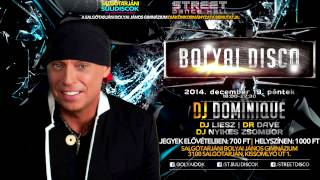 ★ Bolyai Disco ★ Dj Dominique ★ December 19. péntek ★