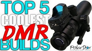 Top 5 Coolest DMR Builds (PolarStar Airsoft Countdown)