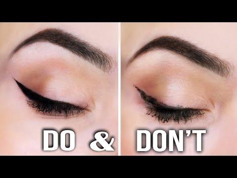 Eyeliner DO's & DONT's