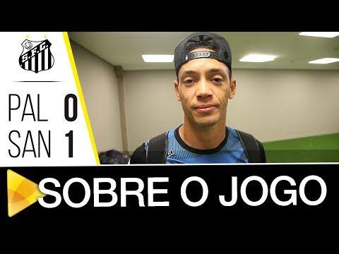 Ricardo Oliveira analisa vitória sobre o Palmeiras