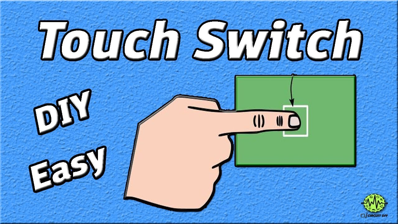How To Make Touch Switch Using 555 Timer Ic Diy Homemade Basic Internal Circuit Block Diagram Lm555 Electronics Projects