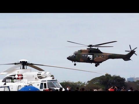 Helicóptero Eurocopter AS332 H-34 Super Puma   Força Aérea Brasileira