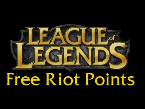 HOW TO GET FREE RIOT POINTS FOR LEAGUE OF LEGENDS [WORKING ...