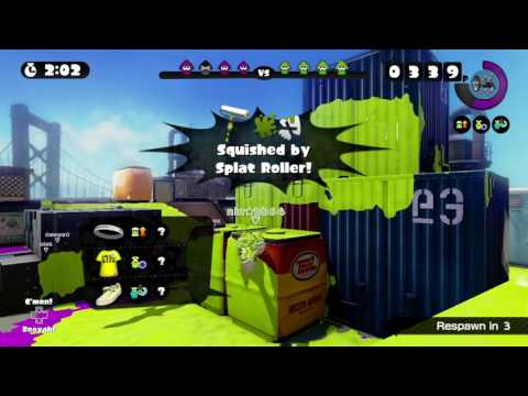 SALTSPRAY RIG ~ SPLAT ROLLER 6 ~ GLOBAL TESTFIRE 2016 ~ SPLATOON - No Commentary