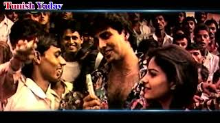Akshay Kumar Rare Video Interact with Fans And Promote ( 1992 ) Khiladi
