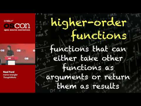 "OSCON 2013: ""Functional Thinking"" - Neal Ford"