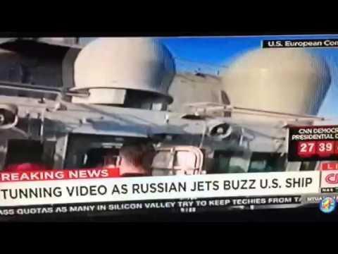 Russian Jets Threaten U.S. Destroyer In Europe