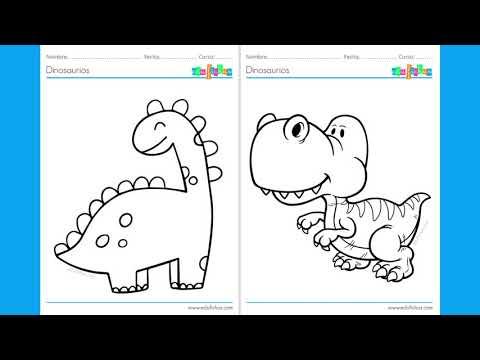 dinosaurios-para-colorear