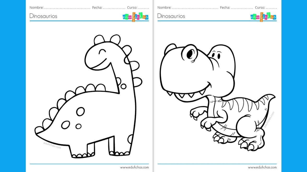 Dinosaurios Para Colorear Youtube Para colorear el calendario de dinosaurios de agosto, sólo tienes que imprimirlo, haciendo click en buenas, ya estamos de nuevo con el calendario de dinosaurios para colorear del mes de mayo 2013. dinosaurios para colorear