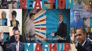 Barack Obama vs Mitt Romney. Epic Rap Battles Of History Reaction Mashup