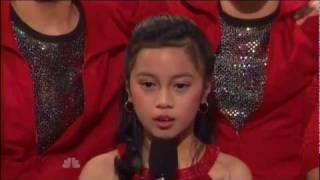 America's Got Talent Semi-finalist- 10 y/o Nina Mojares
