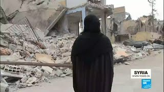 Syria: Residents of Raqqa, the former Islamic state group de facto capital, come back to ruins