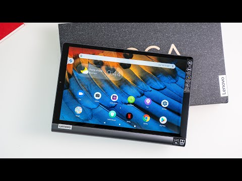 Lenovo Yoga Smart Tab Unboxing & Hands On