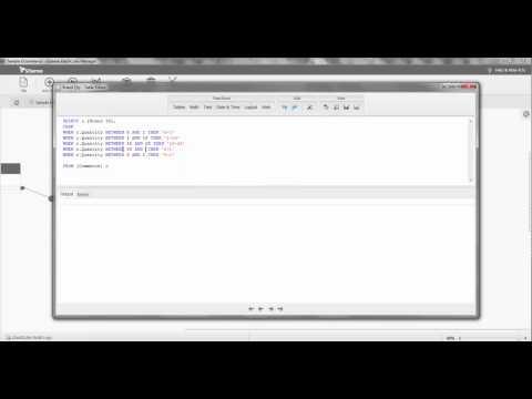 SQL Case Example
