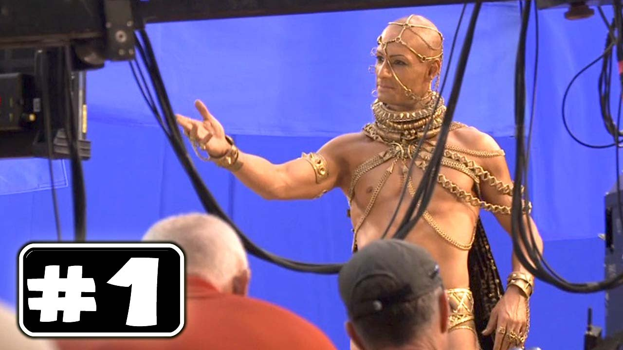 Behind the Scenes of 300 RISE OF AN EMPIRE [Making Of  1]