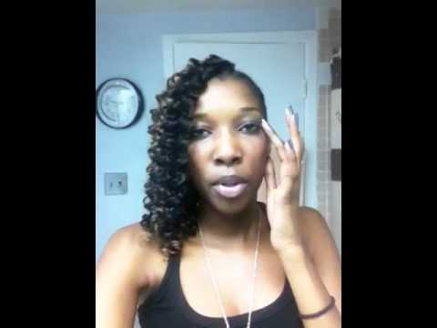One Side Hairstyle Weave N Braids Youtube