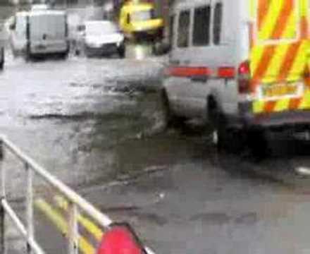 Sheffield Heeley flood