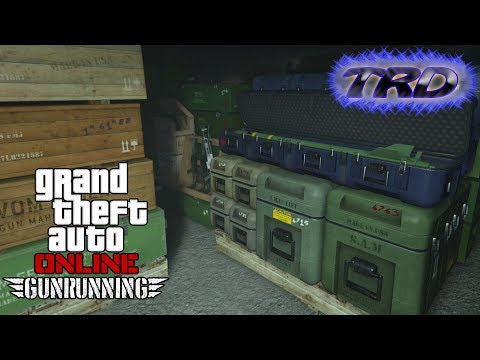 GTA Online - Gunrunning - Full Sale Arms Deal